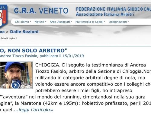 Le passioni corrono nel terreno di gioco – il racconto di Andrea Pocci Tiozzo Fasiolo