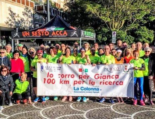"""100 km del Passatore, 47a edizione, 25-26 Maggio 2019 """"Io corro per Gianca"""""""