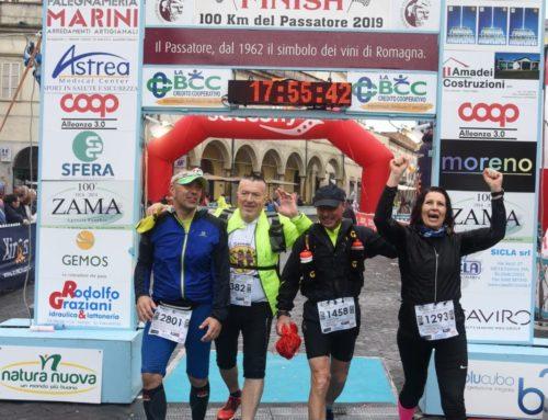 100km del Passatore: il racconto di Dario, Albano, Cinzia e Fabio