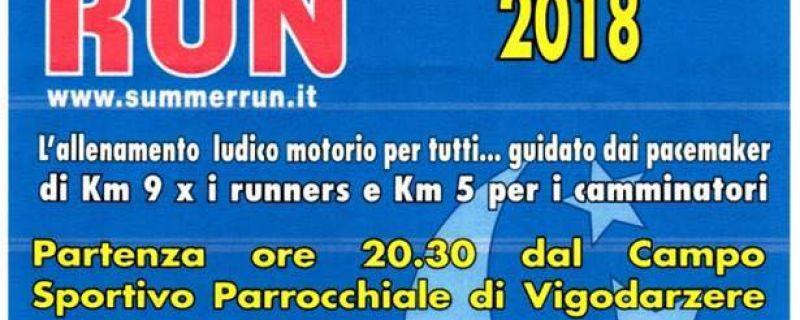 11° tappa Summer Run, Vigodarzere – 13/09/2018