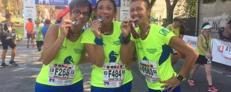 Mezza maratona di Treviso – il racconto di Annalisa, Orietta e Sara